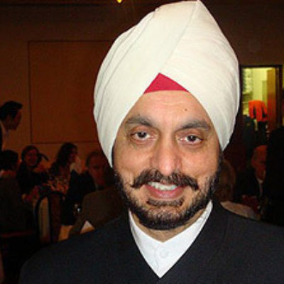 Picture of JBT tour leader, Professor Harminder Dua