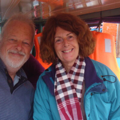 Picture of JBT tour leader, Valerie and Clive Whittington