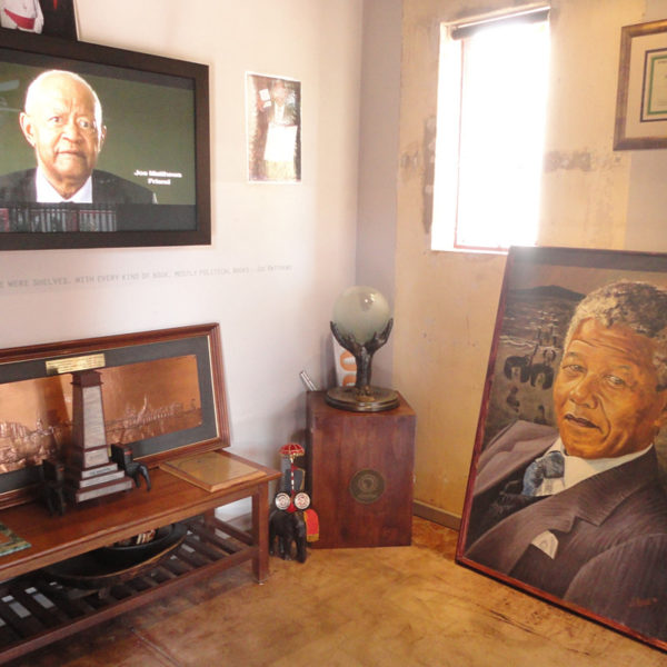 The former home of Nelson Mandela