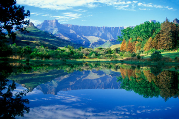 The Drakensburg Mountains