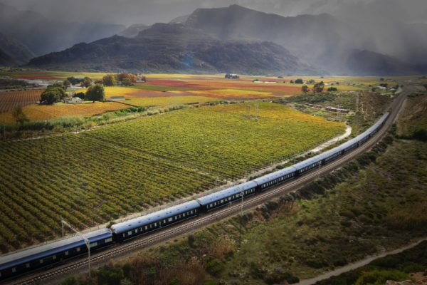 Crossing the Cape Winelands
