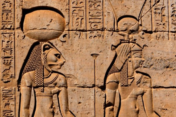 Hieroglyphics at Kom Ombo Temple
