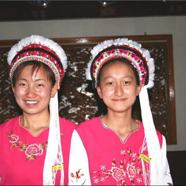 Bai Women In traditional dress In Dali