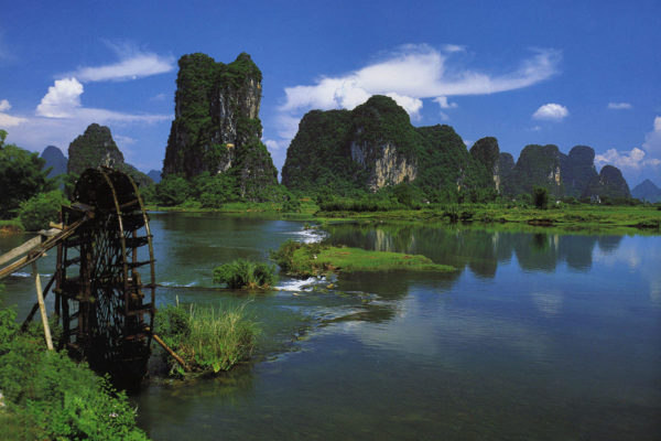 The beautiful Li River