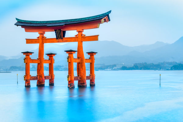 The Torii Shrine near Hiroshima
