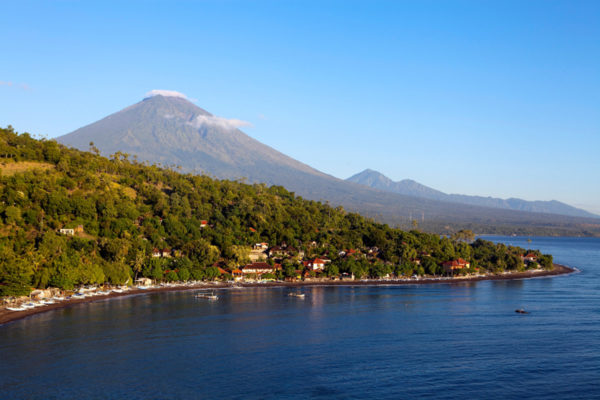 View the Wallace Line at the eastern edge of Bali