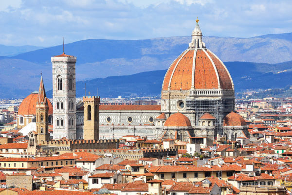 The great Santa Maria Duomo in Florence