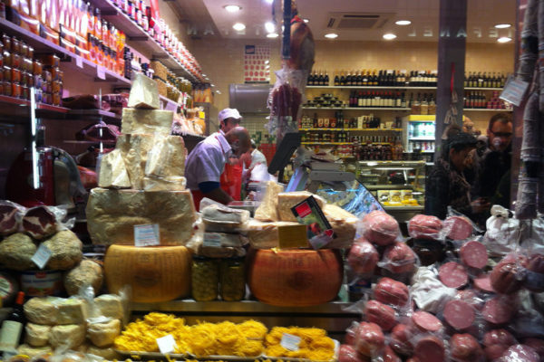 Sample the famous food of Bologna