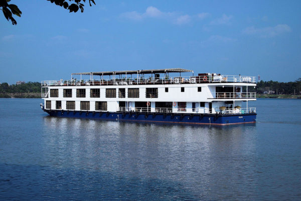 Embark on your river  cruise ship along the Hooghly