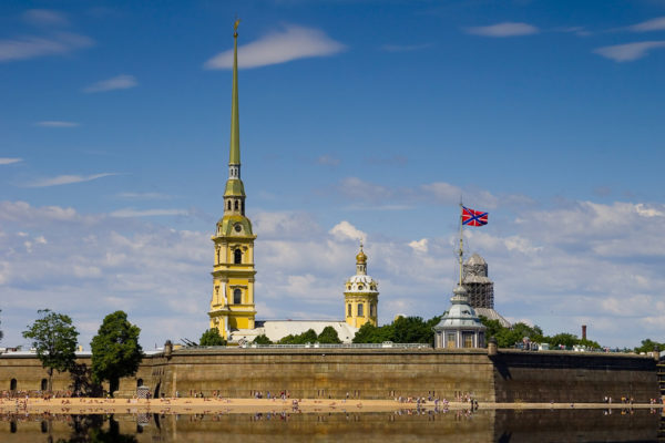 Peter And Paul Fortress, St Petersburg