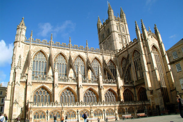 Bath Abbey, by Bath Tourist Board