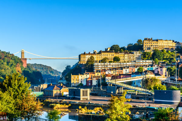 Clifton Village And Suspension Bridge, Bristol