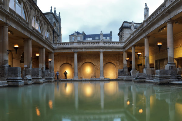 Roman Baths, by Bath Tourist Board