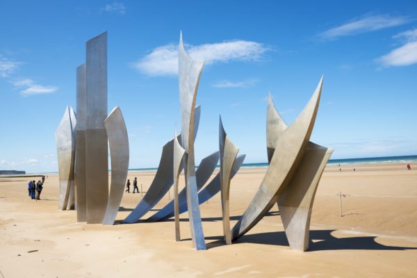 Omaha Beach Les Braves Memorial (Normandy extension)