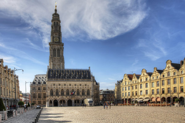 The Place Des Heros In Arras, France