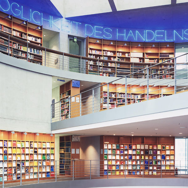 Inside The Bundestag Library
