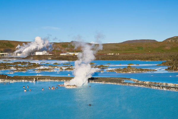 Bathe in the thermal Blue Lagoon
