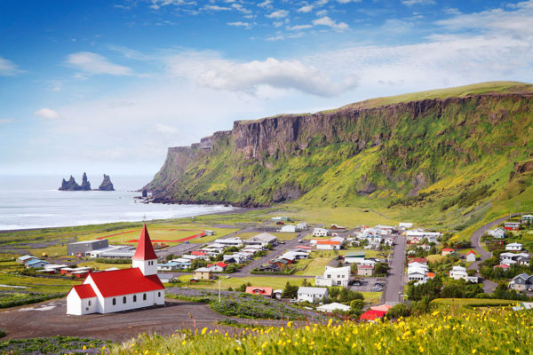 Vik, the most southerly village in Iceland