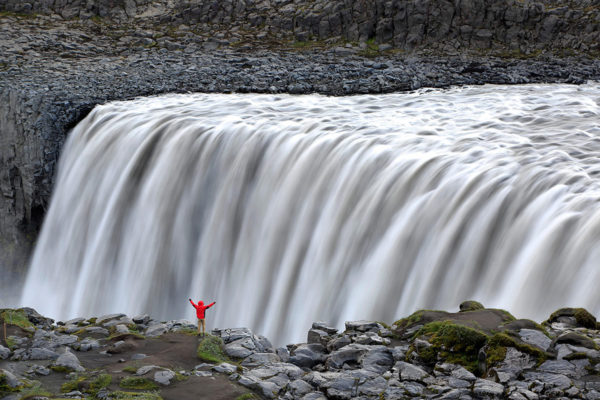 The mighty waterfall of Dettifoss