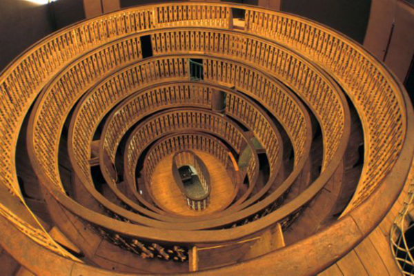 The world's oldest anatomical theatre in Padua