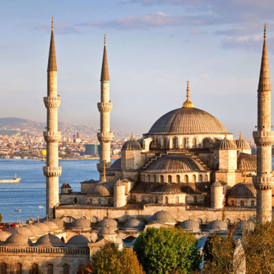 The magnificent Blue Mosque in Istanbul (pre cruise extension)