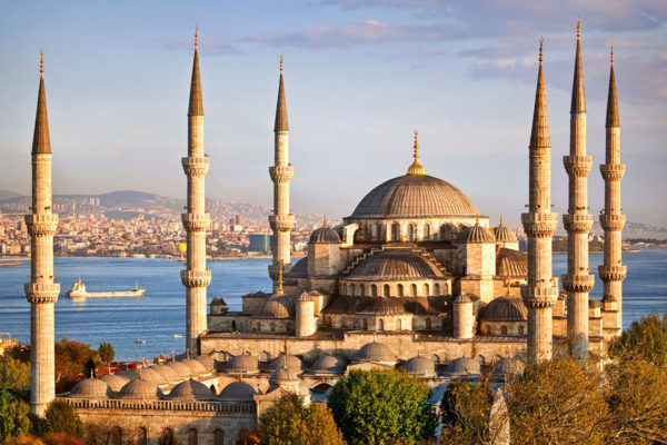 The magnificent Blue Mosque in Istanbul