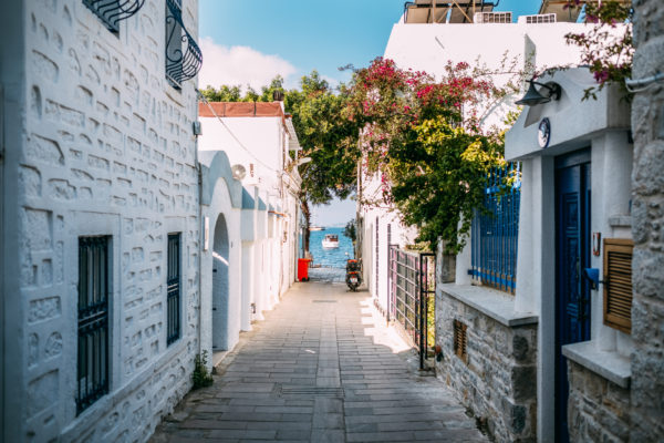 The Pretty Streets Of Bodrum