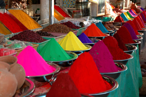 Spices in Mysore Market