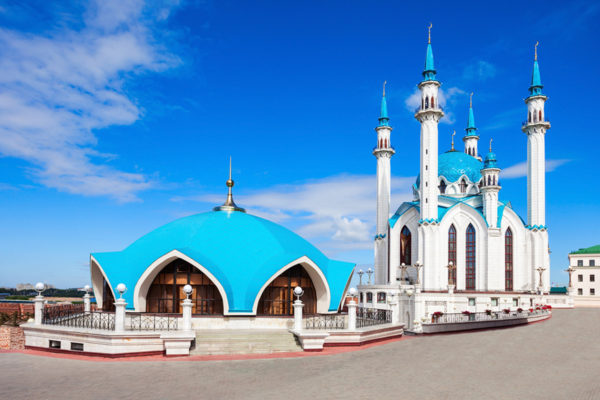 The Kul Sharif Mosque, Kazan