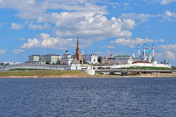 View of Kazan Kremlin from Kazanka River