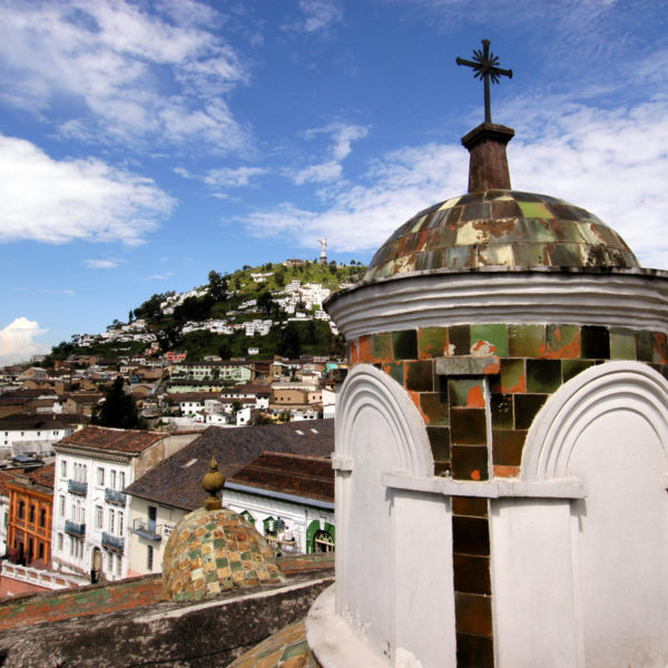 Rooftops of Quito