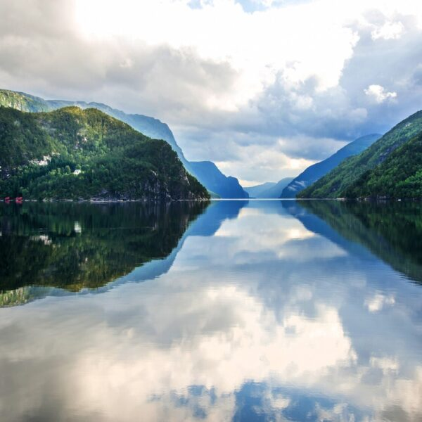 Take a fjord cruise from Bergen To Mostraumen