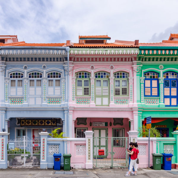 Colourful streets of George Town, Penang