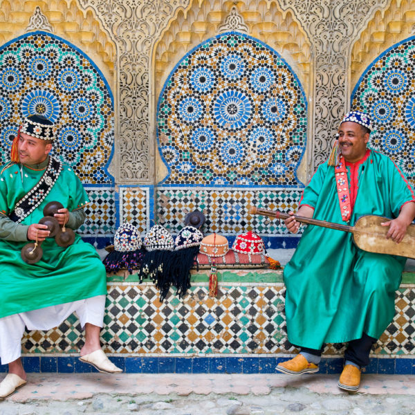Musicians in Tangier
