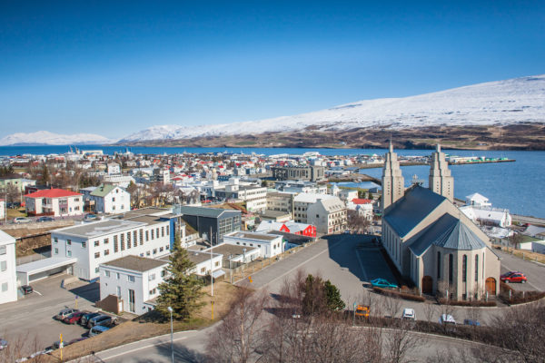 Akureyri, the cultural centre of North Iceland