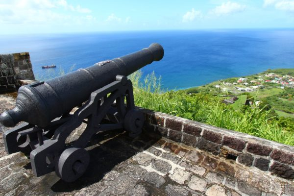 Cannon at Brimstone Hill, Saint Kitts