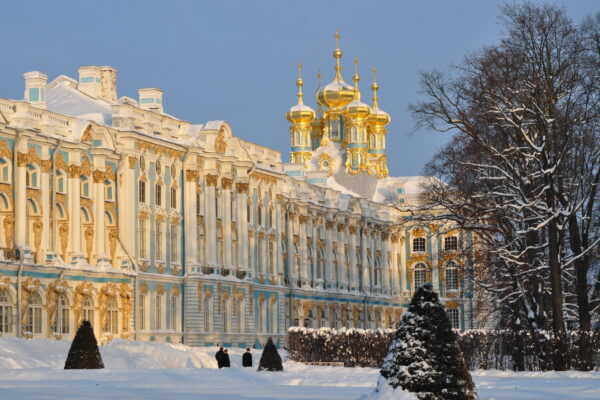 Catherine Palace in the snow