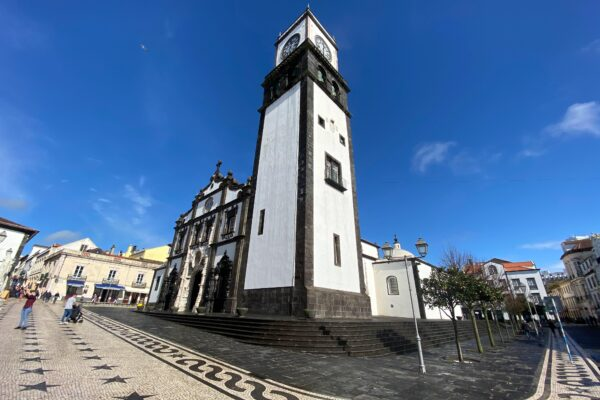 Church on Ponta Delgada