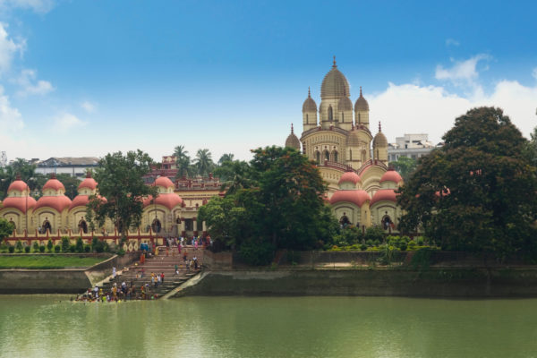 Daksineswar Kali Temple on the banks of the Hooghly River