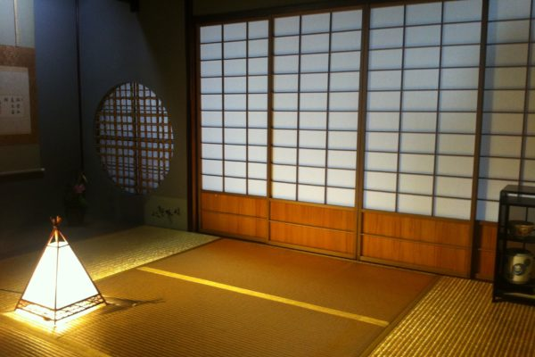 The gold room in a geisha house, Kanazawa