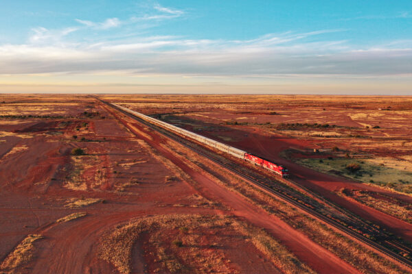 Take the Ghan from Alice to Darwin