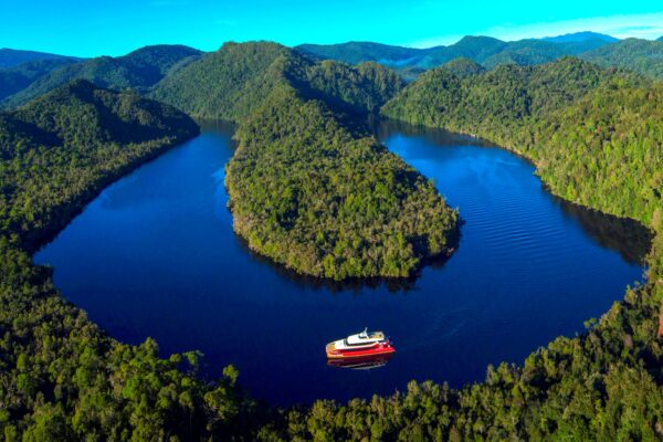 Cruise along the Gordon River