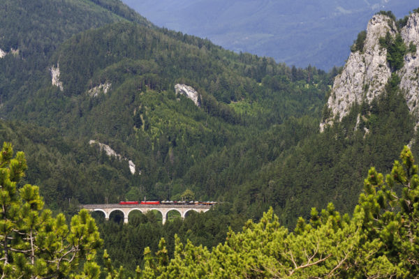 Take the UNESCO-listed Semmering route through the mountains