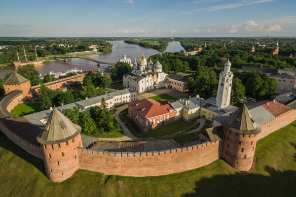 The Kremlin In Veliky Novgorod
