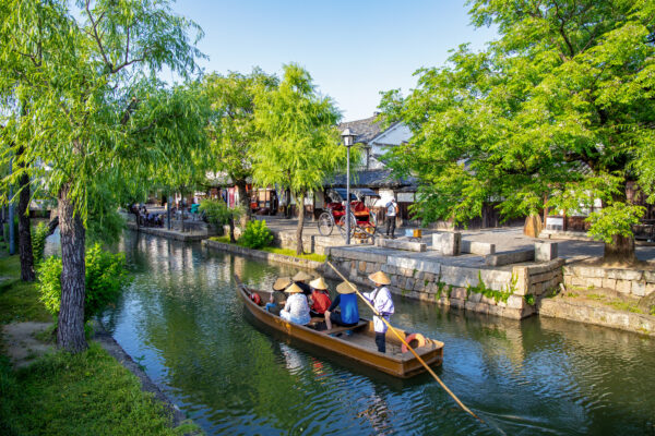 The canals of Kurashiki (Option B)