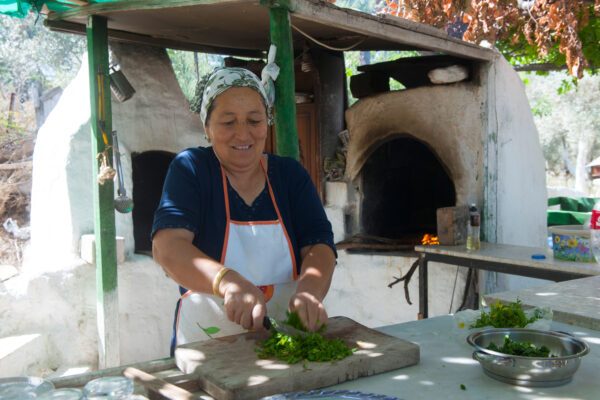 Learn traditional recipes in Kas
