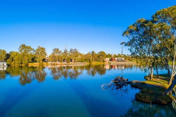 The serene Murray River