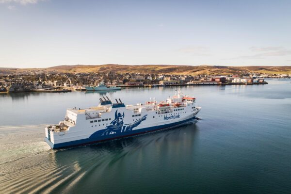 There is the option to take the ferry from Shetland to Orkneys