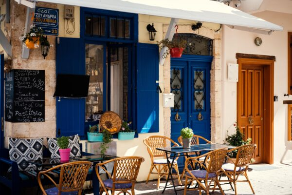 A taverna In Chania