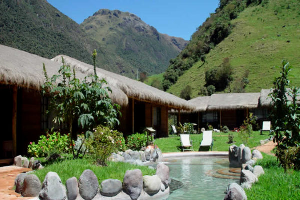 Experience the hot springs of Papallacta